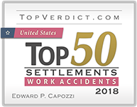 Topverdict.com Top 50 Settlements work accident 2018 logo