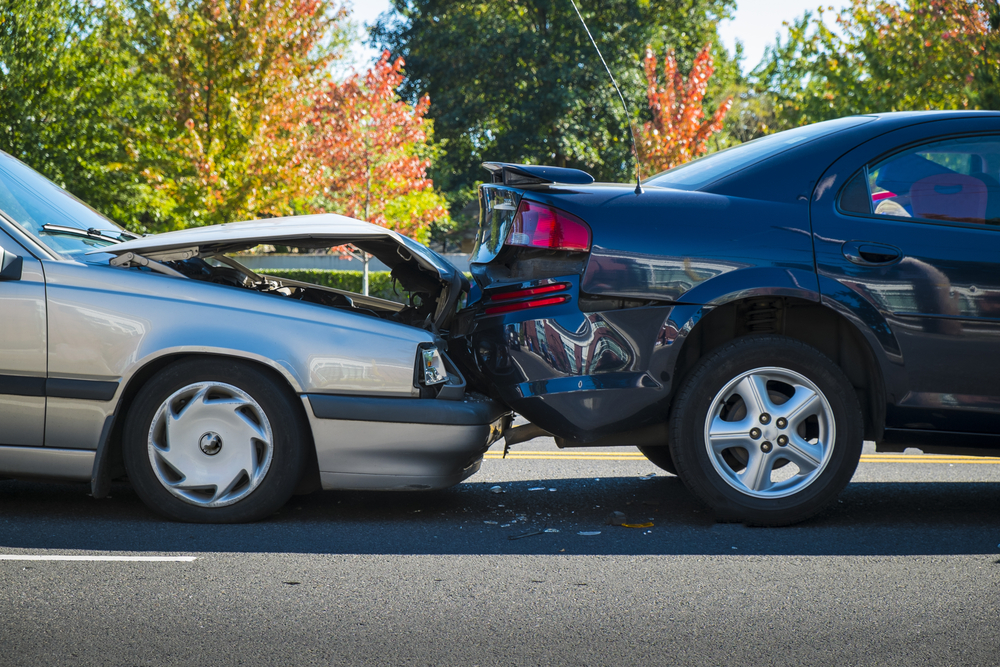 Woodcliff Lake – One Hurt in Two-Vehicle Crash on Garden State Parkway