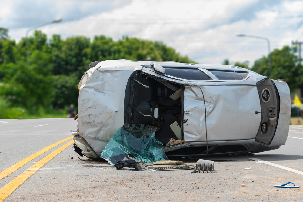 Woodbridge – Driver Hurt in Garden State Parkway Crash