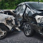 Manchester – Four People Hospitalized in Two-Car Crash