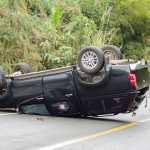 Marlboro – Two Seriously Hurt After Van Overturns